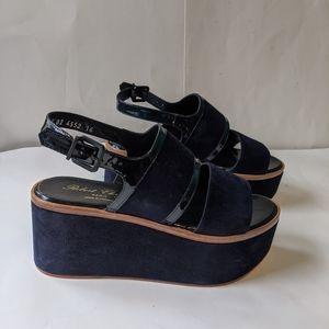 Robert Clergerie platform sandals 6 BNWOB